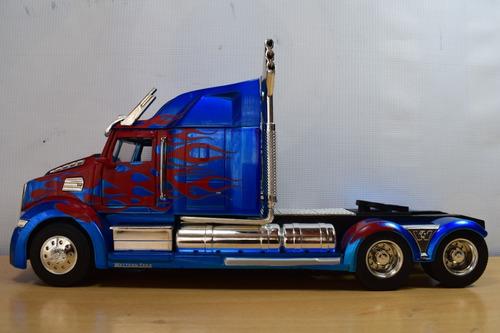 cabeza tractora optimus prime transformes