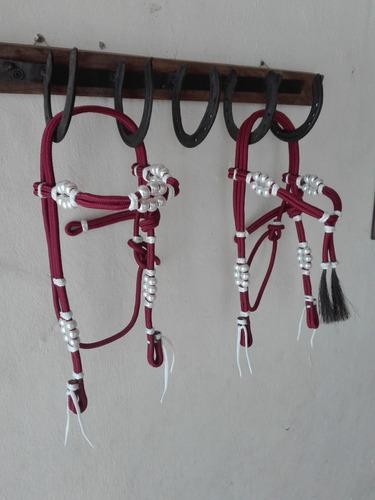 cabezadas de driza, aperos coleo caballos todo para equinos