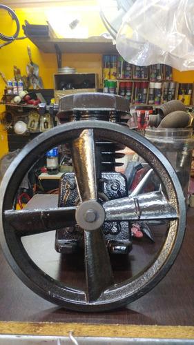 cabezal 3/4 hp piston 65mm polea 9  compresora maximo 72lts