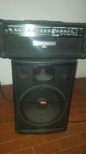cabezal amplificador behringer 100 w