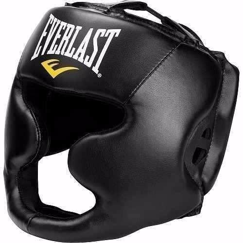 cabezal con protector de pera everlast mma advanced headgear