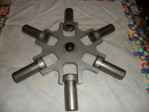 cabezal de 6 tubos para centrifuga de laboratorio