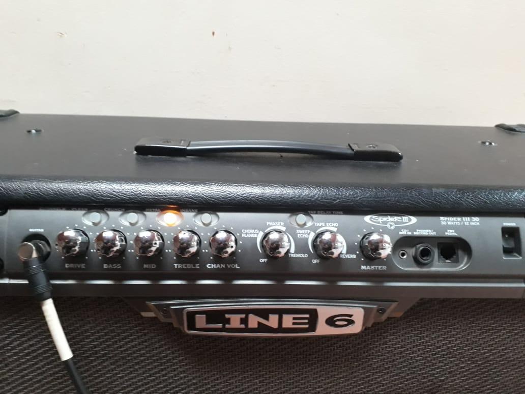 Cabezal De Guitarra Line6 Spider 3 Hd75 - $ 130 000