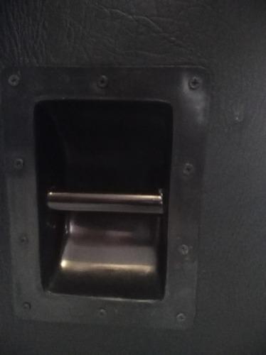 cabezal fender mustang v (v. 2) con gabinete hecho a mano