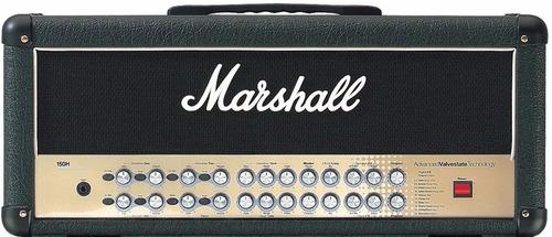 cabezal guitarra marshall avt 150w valvestate amplificador