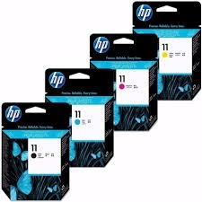 cabezal hp 11 negro y color c4810a / 1 / 2 / 3 original c/u