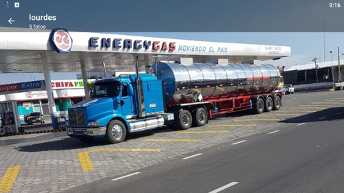 cabezal international y tanquero inox. térmico 11.000 gln