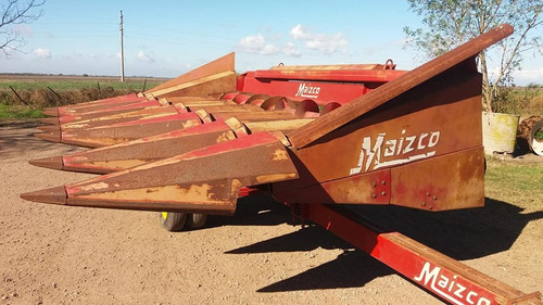 cabezal maicero maizco 6 a 70 con carro