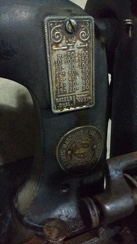 cabezal maquina de coser singer neuman antigua