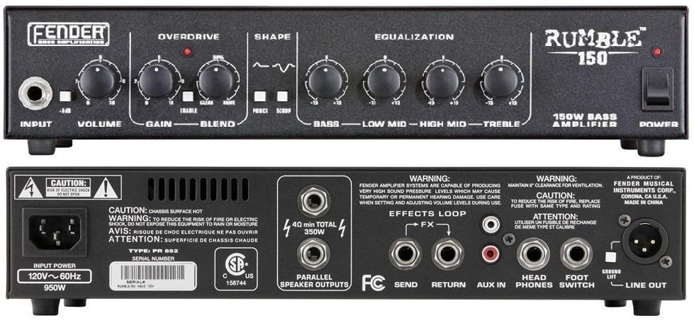 Fender Rumble 150 B Lifier