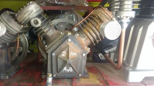 cabezal para compresor 2hp  fram origen argentina