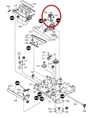 cabezal para impresora epson tmu 220 nuevos de paquete