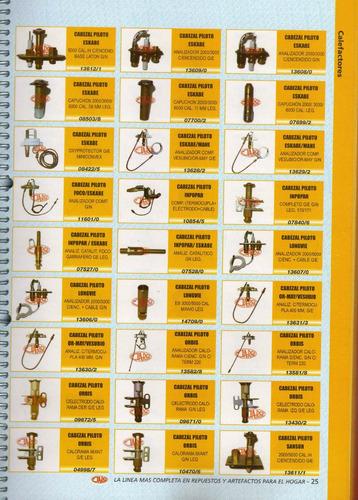 cabezal piloto inpopar art.07840/6 completo g/e g/n leg.170/
