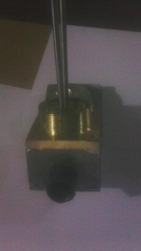cabezal porta electrodos para sistema hidroneumaticos