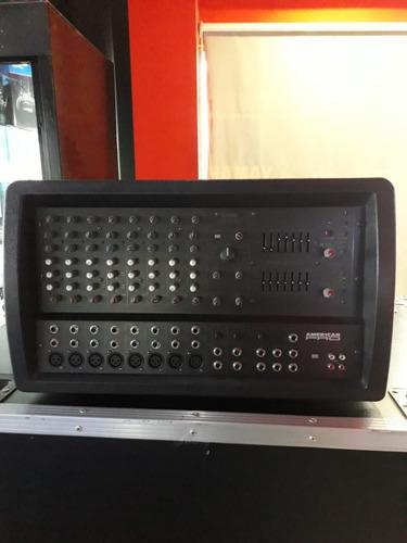 cabezal potenciado american pro m 612  showroom s/caja
