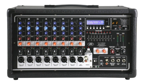 cabezal potenciado pv-8500 mp3/bt peavey