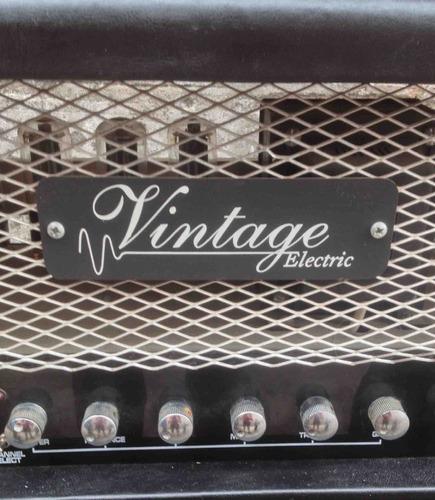 cabezal  valvular vintage electric celestion con caja.