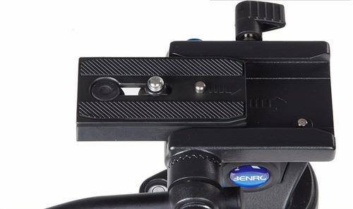cabezal video profesional benro s2 control fluido paneo tilt