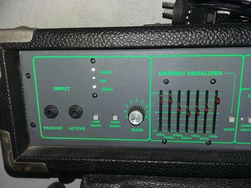 cabezal y caja de bajo valve tech 200w - electro vox 1x15