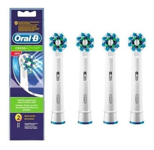 cabezales repuesto cepillo electrico oral b x 2 x 4 unidades