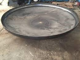 cabezales semielipticos  y  tapas para tanques a presion