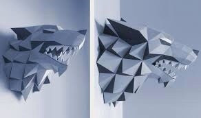 Cabezas De Animales Plantillas Impresas Papercraft