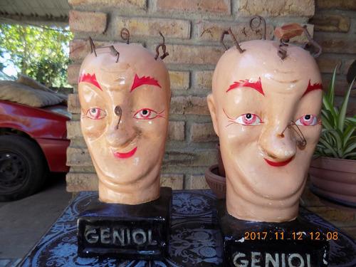 cabezas de geniol  legitimas  grandes $ 3000 c/u
