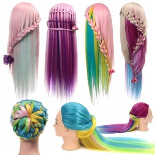 cabezon, cabeza, maniqui de peinado estilistas envio gratis
