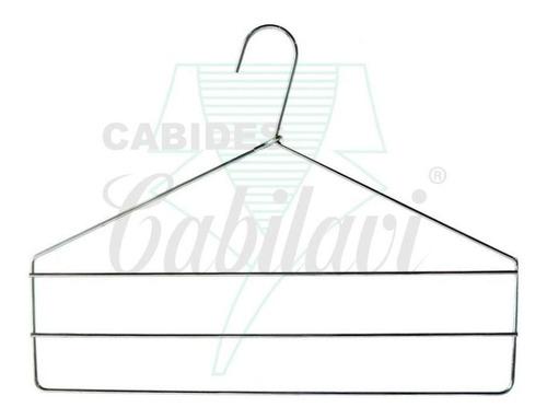 cabide cromado - calças (03 andares) - 03 peças