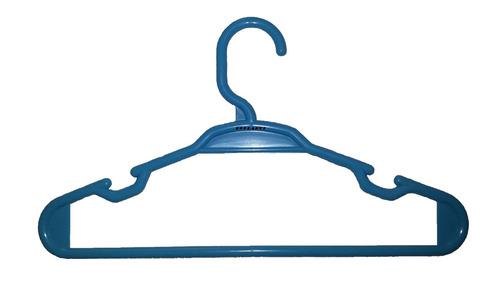 cabide infantil azul embalagem com 50 unidades