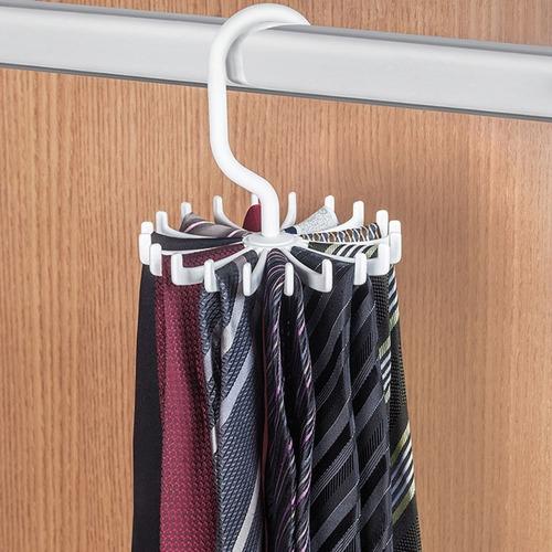 cabide plástico giratório para gravatas ordene or58210n