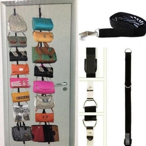 cabideiro organizador de bolsa para porta parede e armario c