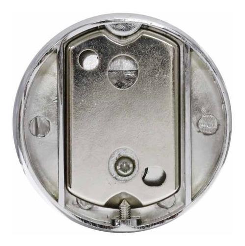 cabideiro para banheiro metal castino