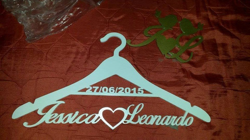 cabides personalizados para casamento