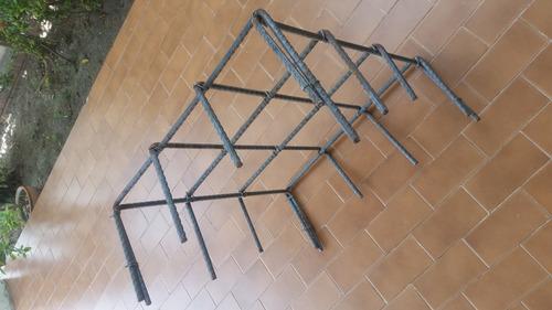 cabillas de 1/2   armadas para fundaciones