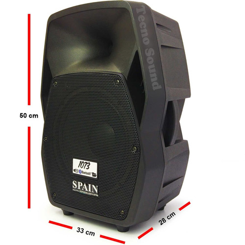 cabina activa de10  (bafle amplificado) spain 1073 usb/bt/fm