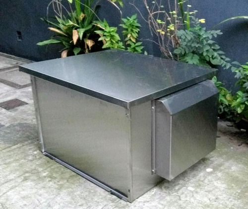 cabina acustica insonorizada grupo electrogeno / inoxidable