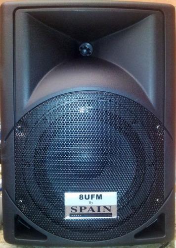 cabina amplificada 8 usb sd fm