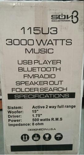 cabina amplificada spain(son3) 3000w