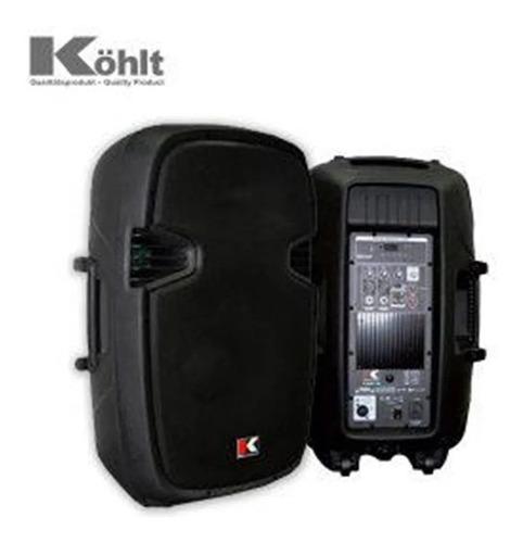 cabina amplificador kohlt usa kms15a bt usb sd 3200 w sonido