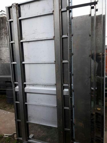 cabina ascensor 1100 x1300 acero 304 y 430