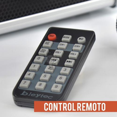 cabina bleytec bc-sp-1455 400w bluetoot microfono / impoluz