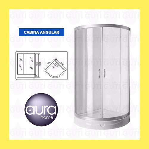 cabina box ducha escocesa aluminio bomba presurizadora