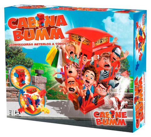cabina bumm juego de mesa telefonica esponjas toyco edu