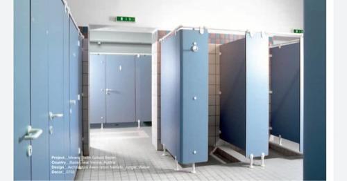 cabina de baños en panel fenolico fundermax 12mm  #hpl