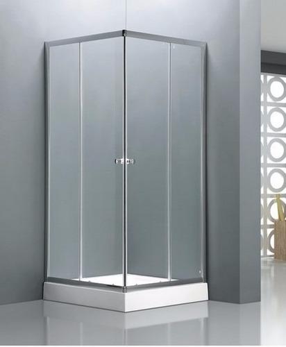 cabina de ducha 80x80x198 base acrilico cerámicas castro.