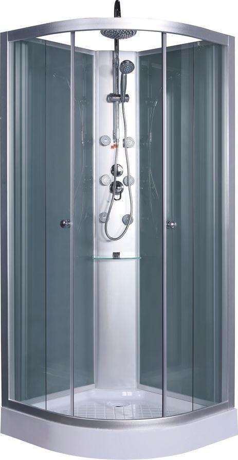 Cabina de ducha con panel hidro 80x80 ceramicas castro for Ceramicas castro