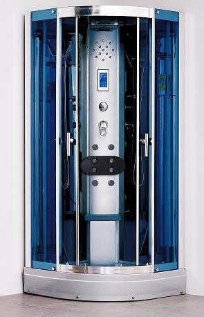 cabina de ducha escocesa aloha 418 c/vapor y ozono