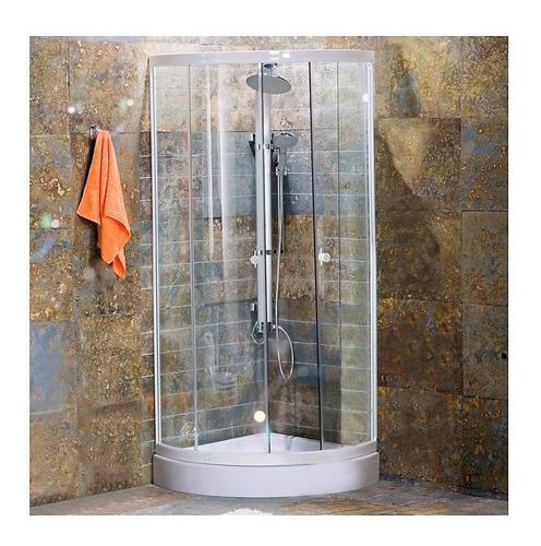 cabina de ducha mampara curva sensi dacqua esquinero oferta