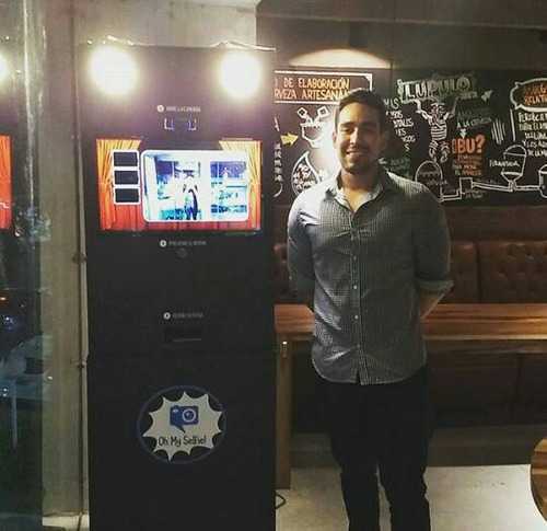 cabina de fotos - alquiler - photoboot